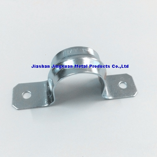 EMT Two hole strap,Saddle Clamp