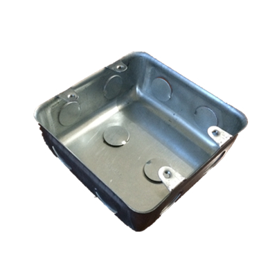 Flush Steel Wall Box,Square Metal Box for South Africa