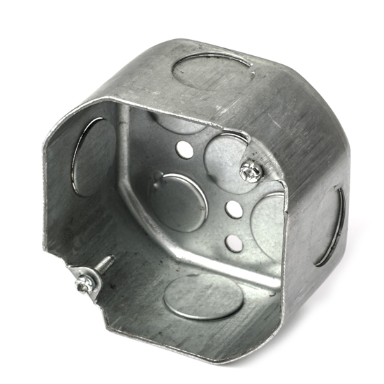 Steel Octagon Conduit Box